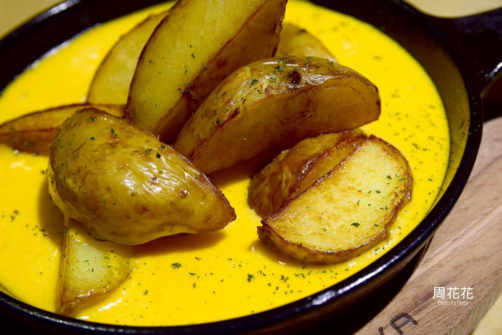 【台北食記】1861 bistro 起司控必吃小黃皮起司洋芋!義大利麵、燉飯也很推薦! @周花花,甲飽沒