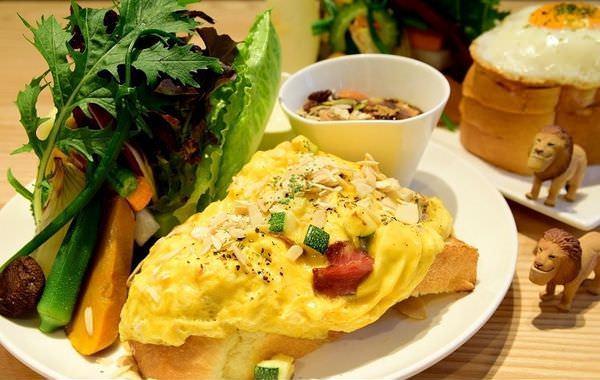 【台北食記】Daylight光合箱子 從台南紅上來的早午餐名店!一餐吃下一座森林! @周花花,甲飽沒