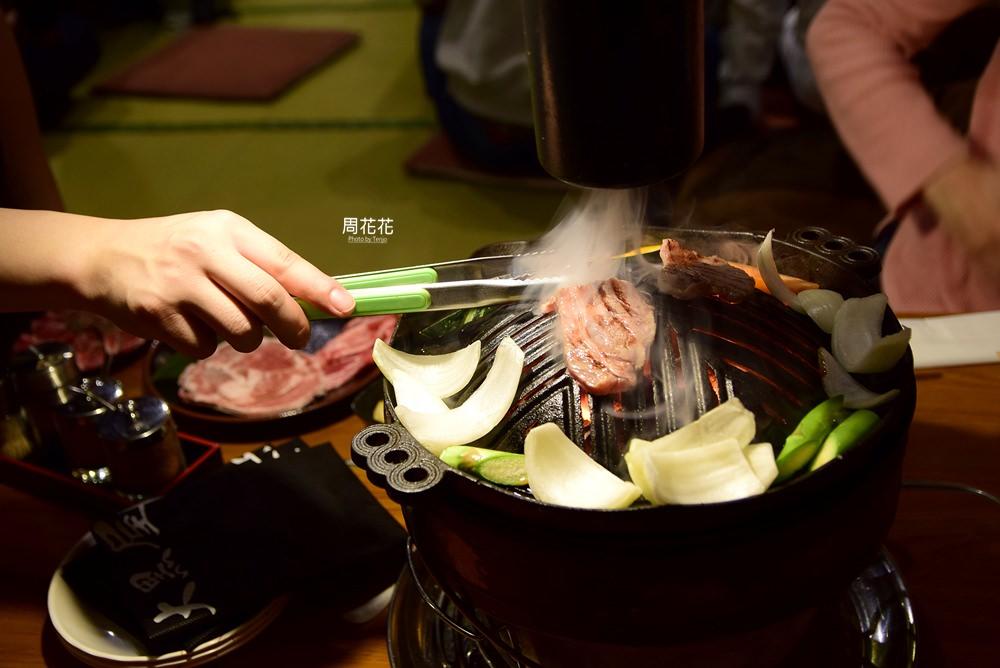 【日本食記】成吉思汗大黑屋 旭川必吃神級美食!無騷味的鮮嫩烤羊肉好吃不貴 @周花花,甲飽沒