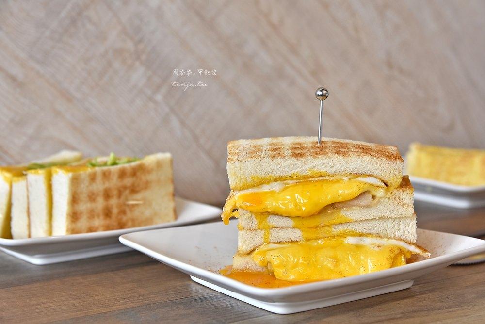 【台北美食】可蜜達Comida北門店 起士肉蛋雙重奏烤吐司!好吃的古早味蛋餅 @周花花,甲飽沒