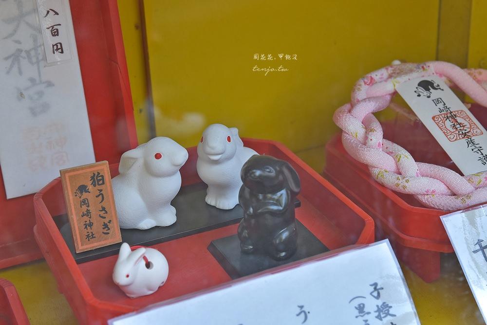 【京都景點】東天王岡崎神社 充滿兔子的特色可愛神社!求子安產、結緣除厄 @周花花,甲飽沒