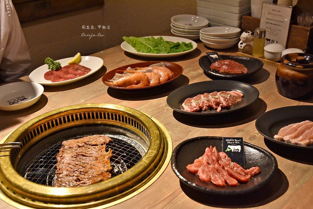 【札幌美食】FAM燒肉大通店 北海道和牛燒肉吃到飽!狸小路高cp值餐廳推薦 @周花花,甲飽沒