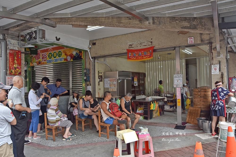 【宜蘭美食】礁溪包子饅頭專賣店 隨時都在人隊的人氣老店,在地人推薦小吃 @周花花,甲飽沒