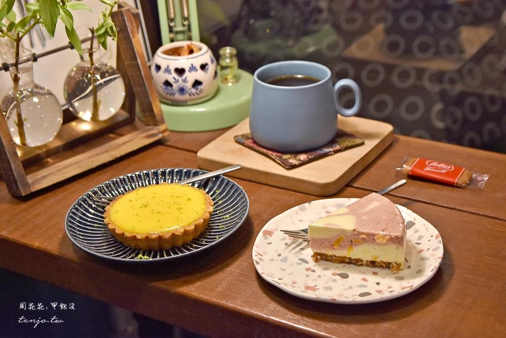 【宜蘭羅東咖啡廳推薦】吉他好事鍋煮奶茶專門 不限時安靜可久坐,甜點法式薄餅都好吃 @周花花,甲飽沒