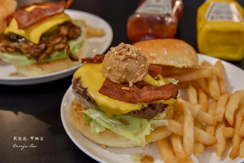 【台北松菸美食推薦】AWESOME BURGER澳森漢堡 平價好吃美式餐廳近捷運市政府站 @周花花,甲飽沒