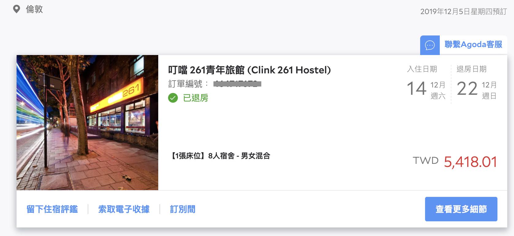 【英國倫敦住宿】Clink261 Hostel 國王十字車站一晚700元青年旅館!平價背包客棧推薦