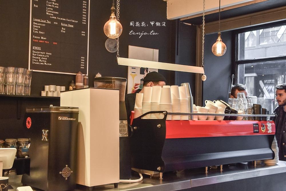 【英國咖啡館】flat white 倫敦SOHO區人氣咖啡店!平白咖啡與烘焙麵包的完美結合