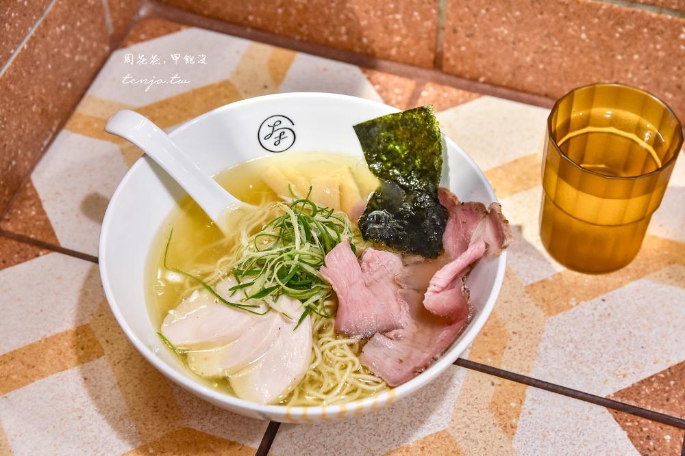 【新竹美食推薦】大角拉麵 隱身東門市場內美味雞湯柚香拉麵!醬油湯頭也蠻好吃的 @周花花,甲飽沒
