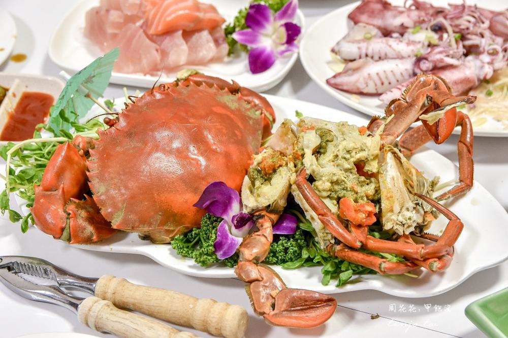 【宜蘭頭城美食】幸福36號海鮮餐廳 烏石港評價最好的高cp值現撈海鮮!菜單價格透明 @周花花,甲飽沒