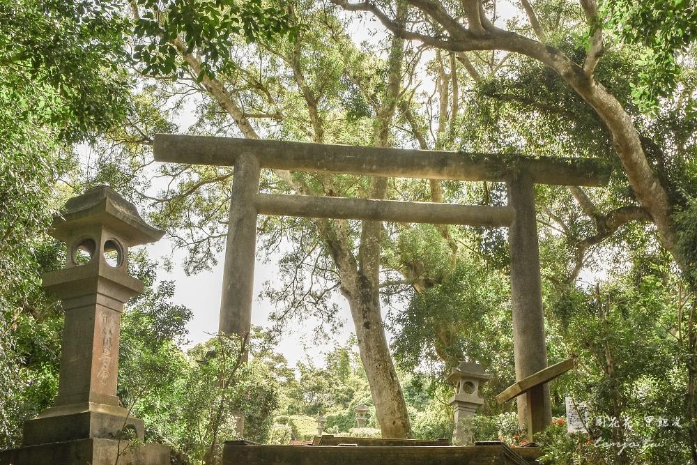 【花蓮玉里景點】玉里神社遺址 東部保留最完整限定古蹟神社!穿越歷史鳥居、表參道 @周花花,甲飽沒