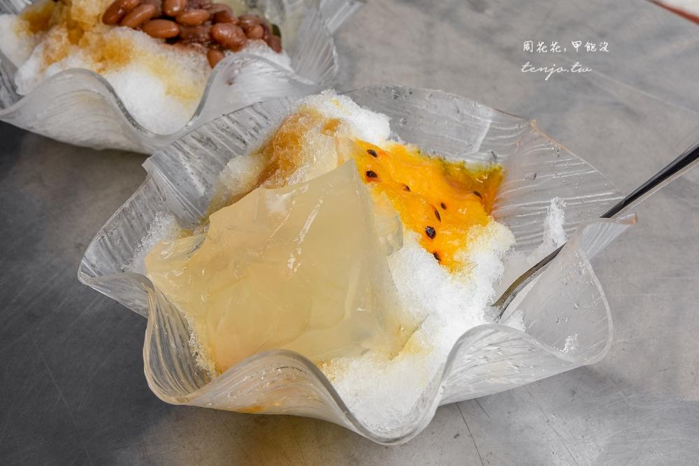 【鼻頭角美食】東北角海品屋 可以任選配料的石花凍剉冰!一碗只要40元冰涼好吃又消暑 @周花花,甲飽沒